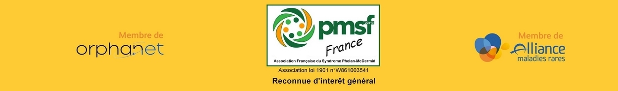 le site de Camille et de l'association fran�aise du Syndrome Phelan-McDermid